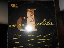 Dalida : 33trs pressage canadien Le disque d'or  .