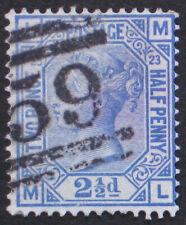 1880 Great Britain Used Scott 68; Sg 142