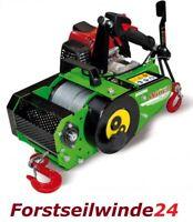 Forstseilwinde Seilwinde VF 150 Automatik inkl. 80m Stahlseil- Benzinwinde