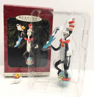 Hallmark Keepsake Dr. Seuss Books The Cat In The Hat #1 Ornament in Series 1999