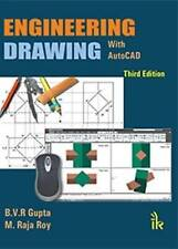 Engineering Drawing with Auto Cad by M. Raja Roy,B.V.R. Gupta, NEW Book, FREE &