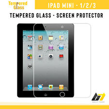 100% Real Tempered Glass Film Screen Protector Guard Clear For iPad Mini 1/2/3