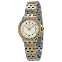 Raymond Weil Tango White Dial Two Tone Stainless Steel Ladies Watch