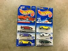 Hot Wheels lot of 6 different Lamborghini cars, FREE shipping! Lot #8