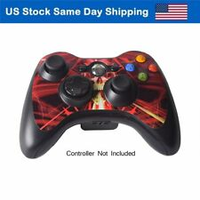 Skin Sticker for Xbox 3 Controller Decal Xbox 360 Gampad Cover Skull Dark Red