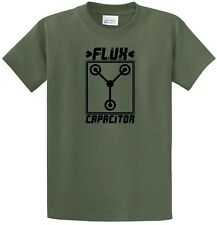 Back To The Future Flux Capacitor Cool Movie T-Shirt 80's Eighties Doc Delorean