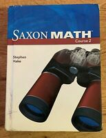 Saxon Math Course 2 Student Book by Stephen Hake
