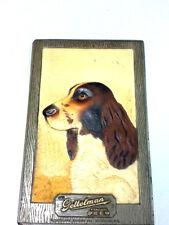 Gettelman beer sign bar signs 1 3-D composite wall tacker retriever dog