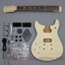 Bargain Musician - GK-005L - LEFT Hand DIY Unfinished Project Luthier Guitar Kit