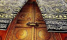 Stampa incorniciata-Le Porte Della Kaaba MECCA (Islam Islamico Corano Religione Art Picture)