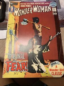 WONDER WOMAN #199 (1972) Classic JEFF JONES Grey Tone BONDAGE COVER