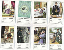GYPSY CARTOMANCY TAROT CARDS IN 6 LANGUAGES #001