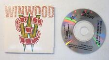 "Mini CD Single CD3 3"" Tiny STEVE WINWOOD ROLL WITH IT 2 Track"