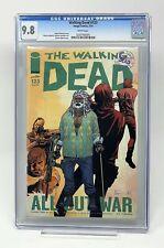 The Walking Dead #123 - CGC 9.8 - Kirkman and Adlard All Out War - Image Comics