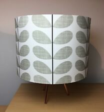 Orla Kiely Scribble Stem Gray Handmade Lampshade