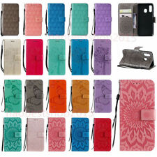 For LG Stylo 6/Q71 Leather Flip Wallet  Cover Case & 2*Glass Screen Protector