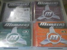 Members Only vol.1, collezione 3,4,6,7,8,9,10,11,12
