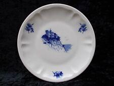Vintage Porcelain Renaud Clermont Nice Limoge Flow Blue Salad Plate