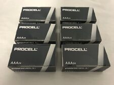 144 New AAA Procell Alkaline Batteries by Duracell PC2400 EXP 2026