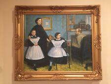 The Bellelli Family 1859-860 Edgar Degas Oil painting reproduction