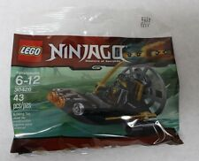 LEGO Ninjago 30426 Stealthy Swamp Airboat 43pcs New Free Shipping