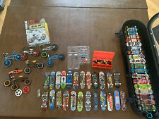 Lot of 42 Tech Deck Boards With Parts And 7 BMX Tech Deck Bikes.