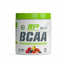 New listing Muscle Pharm Essentials BCAA Powder Post-Workout Recovery Drink Fruit Punch 3...