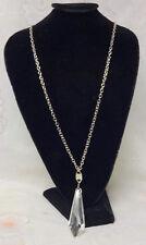 Signed Prabal Gurling Haute Couture Runway Chandelier Crystal Pendant Necklace