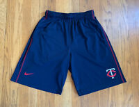 Minnesota Twins Nike Dri-Fit Baseball Training Shorts EUC Size Medium