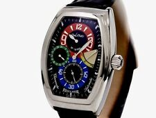 Paul Picot Regulator Firshire 3000, Stainless Steel,  Limited Edition MINTY