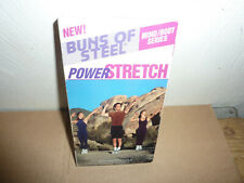 Buns of Steel - Power Stretch (VHS, 1999)