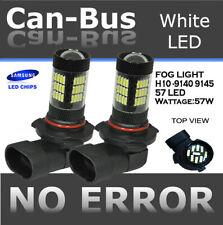 Samsung H10 9140 9145 LED 57 LED Super White Fog Light Replace Halogen Bulb C99