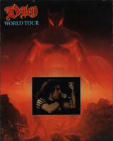 DIO 1984 THE LAST IN LINE WORLD TOUR CONCERT PROGRAM BOOK / BOOKLET / VG 2 NMT