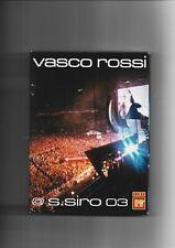 VASCO ROSSI - COFANETTO 2 DVD CONCERTO SAN SIRO 03, COME NUOVO