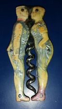 OVER 100 YEARS OLD FULLY MARKED GERMANY AMOR 1898 KISSING COUPLE CORKSCREW NR!