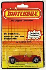 1983 Matchbox No. 47 Jaguar SS 100 Red