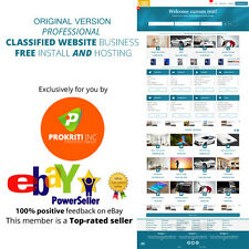 Original Professional Classified Website Business Free Install