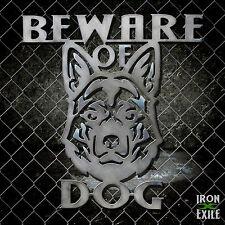 Beware of Dog German Shepherd Metal Sign No Trespassing Keep Out Warning USA