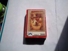 Indiana Jones & The Last Crusade Video 8Mm Tape