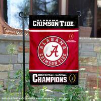 Alabama Crimson Tide 2020 Football CFP National Champions Garden Yard Banner