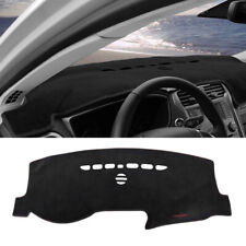 Black Car Dashboard Cover Dashmat Dash Mat Protector Pad For 2013-18 Ford Fusion