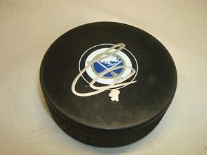Chad Johnson Signed Buffalo Sabres Hockey Puck Autographed 1A