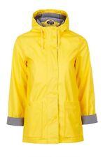 Topshop Yellow Raincoat Mac Size 6 8