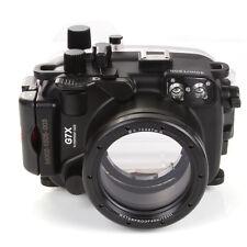 40M Waterproof Underwater Housing Dving Case Cove for Canon PowerShot G7X