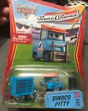Disney Pixar Cars ~ DINOCO PITTY ~ RaceORama Series #62 1:55 Diecast Mattel