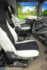 RENAULT MAGNUM 2002-2008 Beige ECO LEATHER SEAT COVERS