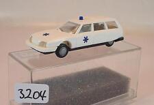 Praliné 1/87 Nr. 83305 Citroen CX Break Kombi Ambulance OVP #3204