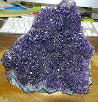 URUGUAY AMETHYST CRYSTAL  CLUSTER  CATHEDRAL GEODE