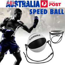 Speed Dodge Ball Double End Gym MMA Boxing Sports Punch Bag Floor To Ceiling NSW