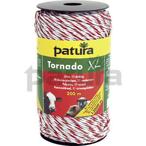 Patura Electric Fence Tornado XL 11-Strand Polywire